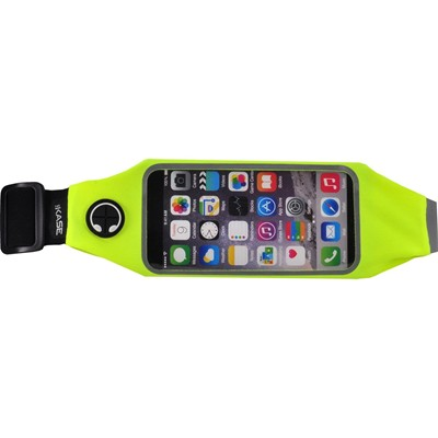 THE KASE iPhone 6 - Ceinture de Sport Universelle - argent