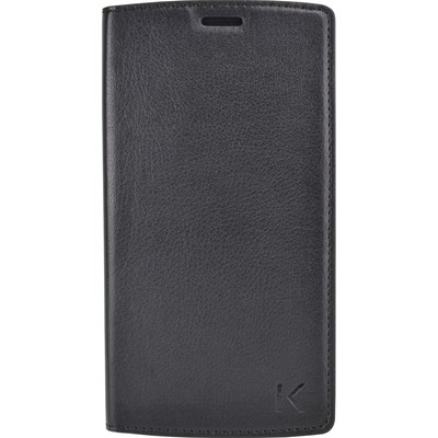 THE KASE LG G4 - Coque clapet - noir