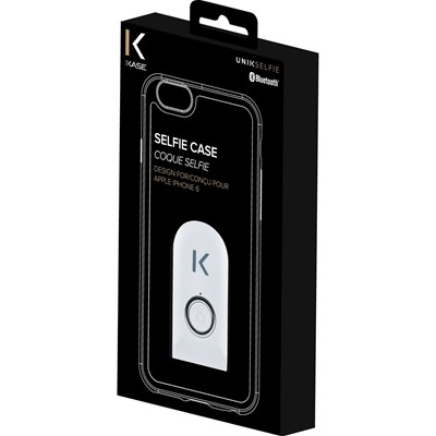 THE KASE iPhone 6 - Coque selfie bluetooth - blanc
