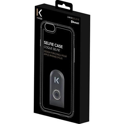 THE KASE iPhone 6 + - Coque selfie bluetooth - noir