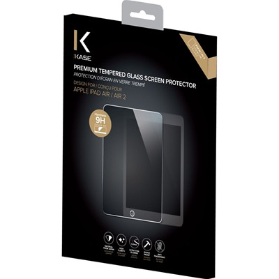 THE KASE iPad Air - Protection écran en verre trempé - transparent