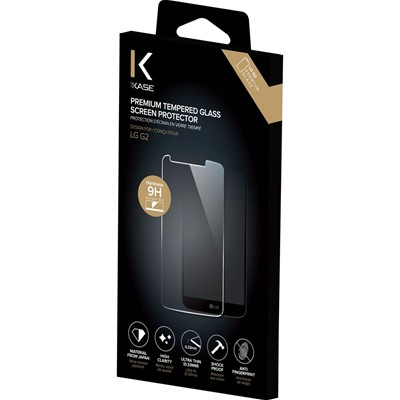 THE KASE LG G2 - Protection d'écran en verre trempé - transparent