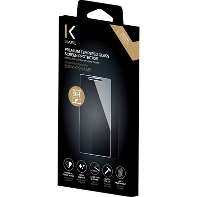 THE KASE Xperia M2 - Protection écran - transparent