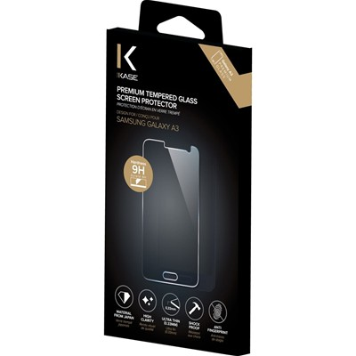 THE KASE Galaxy A3 - Protection écran - transparent