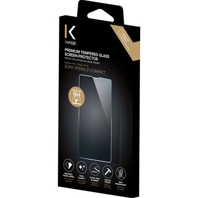 THE KASE Xperia Z1 Compact - Protection écran - transparent