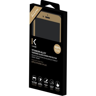 THE KASE iPhone 6 Plus - Protection écran - or