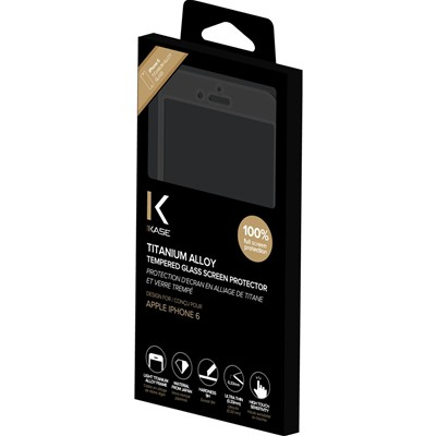 THE KASE iPhone 6 - Protection écran - or