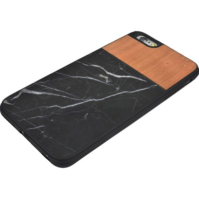 THE KASE Naturalista - Coque mabre-bois cerisier pour Apple iPhone 6 Plus - marron