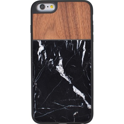 THE KASE Naturalista - Coque mabre-bois Noyer pour Apple iPhone 6 Plus - marron