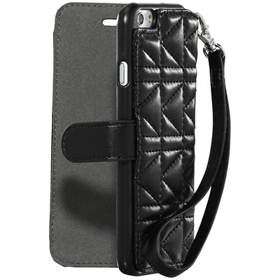 THE KASE iPhone 6 - Coque clapet - noir