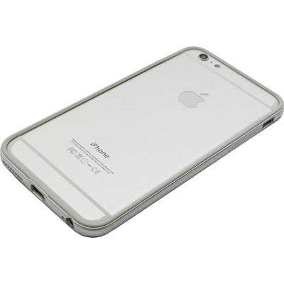 THE KASE Bumper iPhone 6+ argent