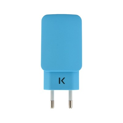 THE KASE iPhone 6 Plus/iPhone 6/iPad/smartphones/tablettes Android - Chargeur universel - bleu