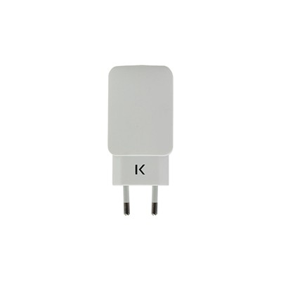 THE KASE iPhone 6 Plus/iPhone 6/iPad/smartphones/tablettes Android - Chargeur universel - blanc