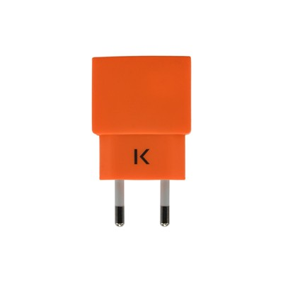 THE KASE Apple/Samsung/HTC/Sony et plus - Chargeur universel - orange
