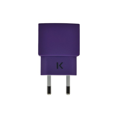 THE KASE Apple/Samsung/HTC/Sony et plus - Chargeur universel - violet