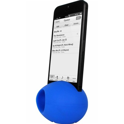 THE KASE iPhone4/4S - Amplificateur de son - bleu