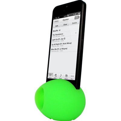 THE KASE iPhone 4/4S - Amplificateur de son - vert
