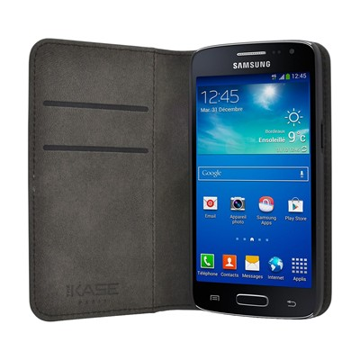 THE KASE Galaxy Core 4G - Etui - noir