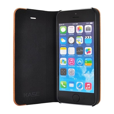 THE KASE iPhone 5/5S - Coque - marron