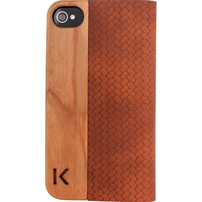 THE KASE iPhone 4/4S - Coque - marron