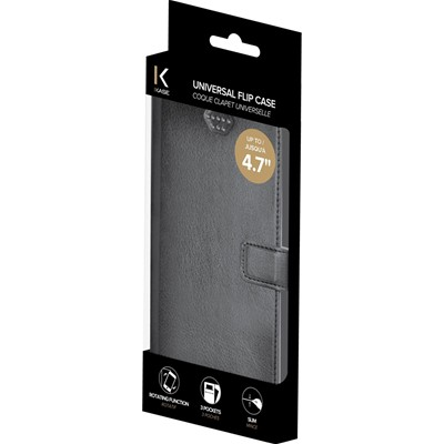 THE KASE Nokia Lumia 830/Sony Xperia Z1/ iPhone 6 - Coque - noir