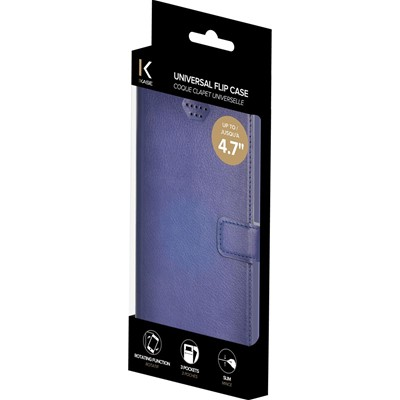 THE KASE Nokia Lumia 830/Sony Xperia Z1/iPhone 6 - Coque - bleu