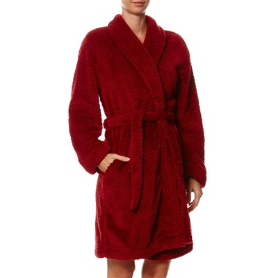 Cozy Fluffy - Peignoir de bain - rouge