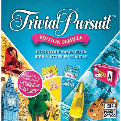 HASBRO Trivial Pursuit - multicolore