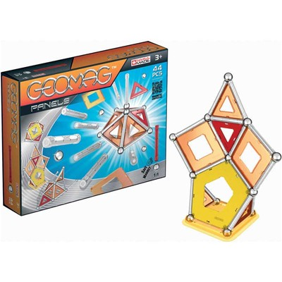 GIOCHI PREZIOSI Geomag panel 44 pieces - Jeu de construction - multicolore