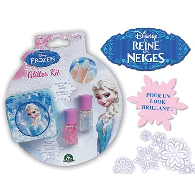 La reine des Neiges - Coffret vernis Frozen - multicolore