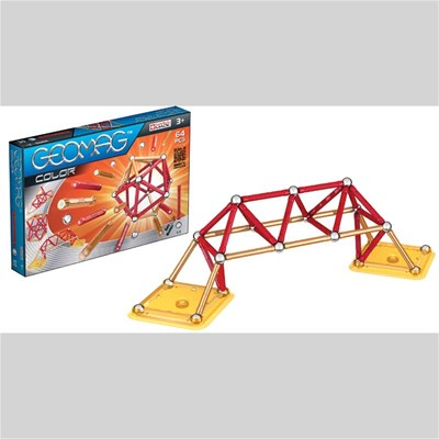 GIOCHI PREZIOSI Geomag color 64 pcs - Jeu de construction - multicolore