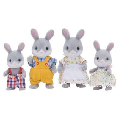 EPOCH D'ENFANCE Sylvanian Family - Famille lapin - 4 ans +