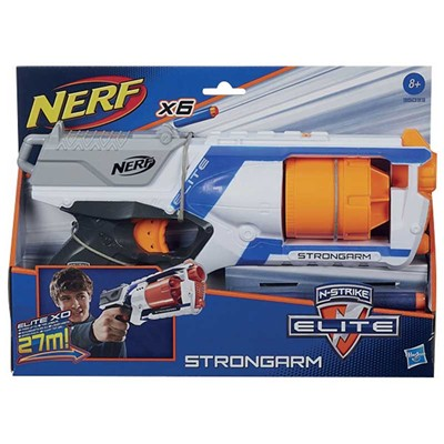 HASBRO Nerf elite strongarm - multicolore