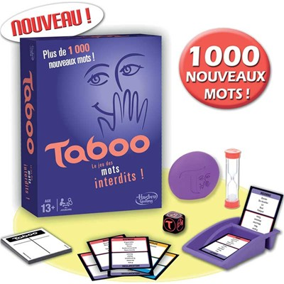 Hasbro Taboo party game - multicolore