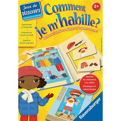 RAVENSBURGER Comment je m'habille? - Casual - multicolore