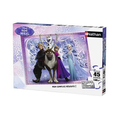 La Reine des Neiges - Puzzle - multicolore