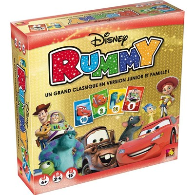 ASMODEE EDITIONS Disney - Rummy - multicolore