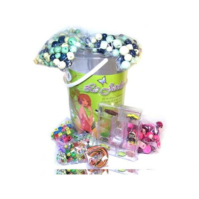 JLB Kit baril jardin aux perles - multicolore