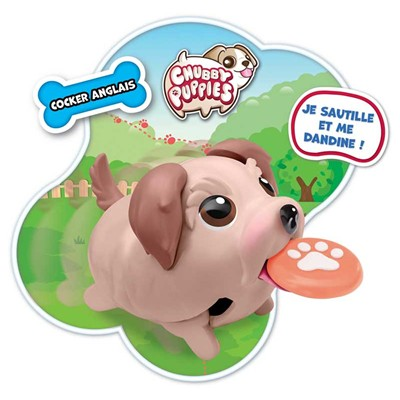 SPIN MASTER Figurine chiot chubby puppies - multicolore