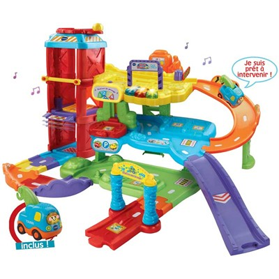 VTECH Maxi garage éducatif - multicolore