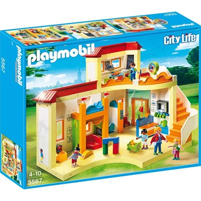 PLAYMOBIL City life - Garderie - multicolore