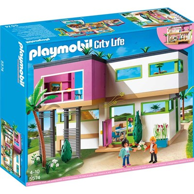 PLAYMOBIL City life - Maison moderne - multicolore