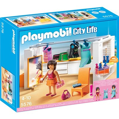 PLAYMOBIL City Life - Dressing - multicolore