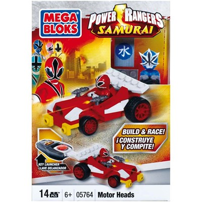 MEGA BLOKS Power Rangers Racers de poche - multicolore