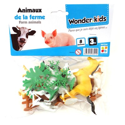 WONDERKIDS Ferme miniature - multicolore