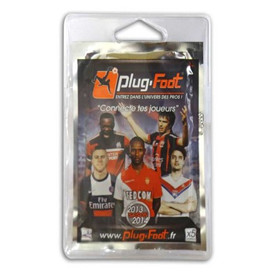 PLUG FOOT Plug Foot - Sachet de 5 cartes de football - multicolore