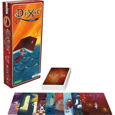 Asmodee Editions dixit quest - 8 ans +