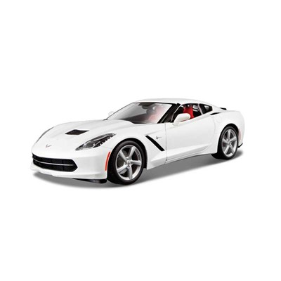 BURAGO Corvette StingGray - Voiture - multicolore