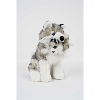 WDK PARTNER Lot de 2 peluches - multicolore