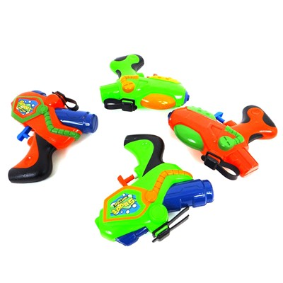 WONDERKIDS Lot de 4 mini pistolets à eau - multicolore
